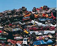 Stack of cars